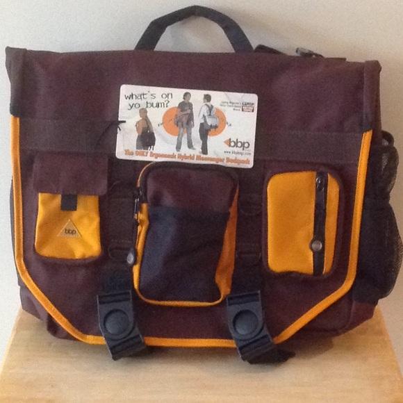 Other - BBP Hybrid Messenger - Backpack Laptop Bag